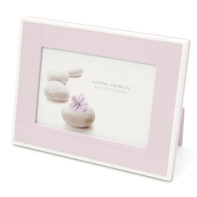 Swing Design™ Elle Lacquer 4-Inch x 6-Inch Frame in Soft Pink