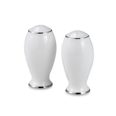 Mikasa® Cameo Platinum Salt and Pepper Shakers
