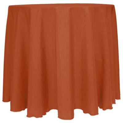 Orange Outdoor Tablecloth