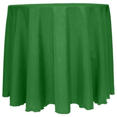 Emerald Round Tablecloth