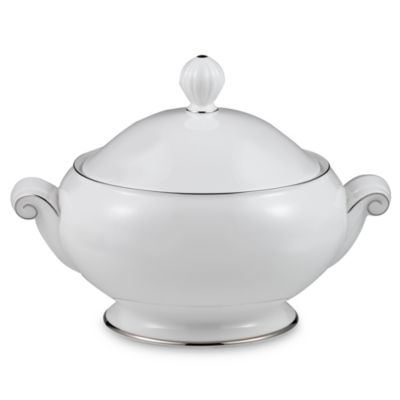Mikasa® Cameo Platinum 1-Quart Covered Casserole