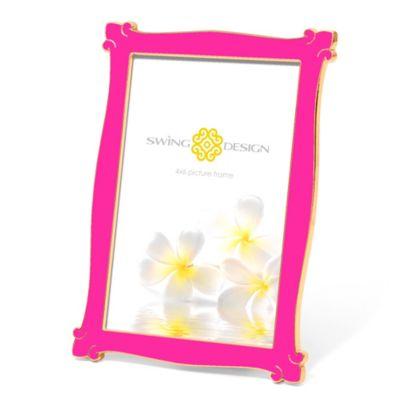 Swing Design™ Zoe 4-Inch x 6-Inch Frame in Pink