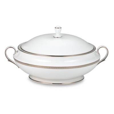 Lenox® Murray Hill Covered Vegetable Bowl