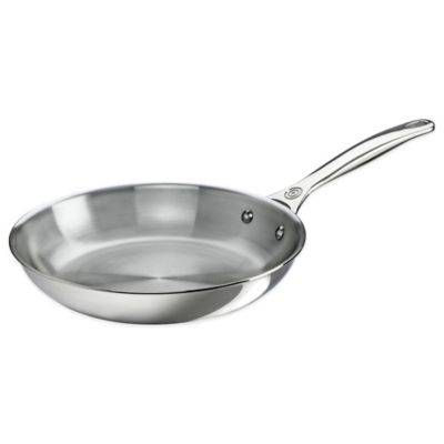Le Creuset® 10-Inch Tri-Ply Stainless Steel Open Fry Pan