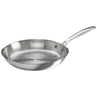 Le Creuset® 12-Inch Tri-Ply Stainless Steel Open Fry Pan