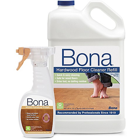Bona Hardwood Floor Cleaner Refill With Wood Furniture Polish Bed Bath Beyond