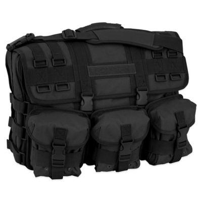 Mercury Luggage/Seward Trunk Computer Messenger Bag in Black