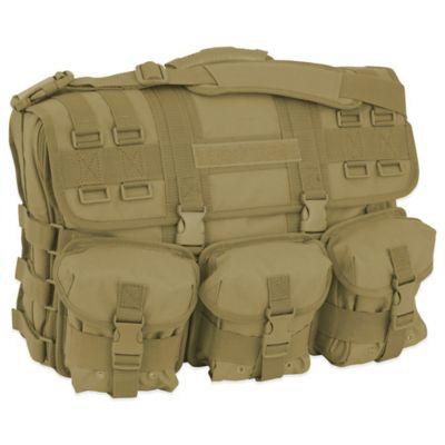 Mercury Luggage/Seward Trunk Computer Messenger Bag in Coyote