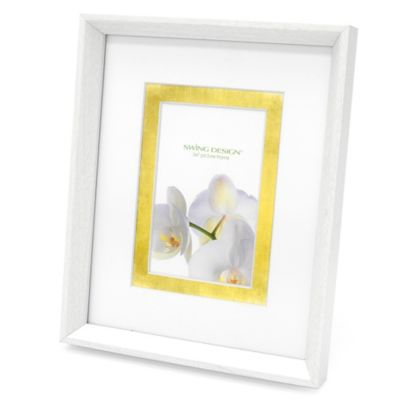 Swing Design™ Sutton 8-Inch x 10-Inch Frame in White