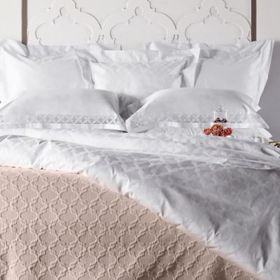 Frette At Home Marano European Pillow Sham in White