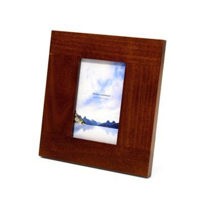 Swing Design™ Spectrum 4-Inch x 6-Inch Frame in Walnut