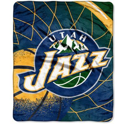 NBA Utah Jazz Super-Plush Raschel Throw Blanket