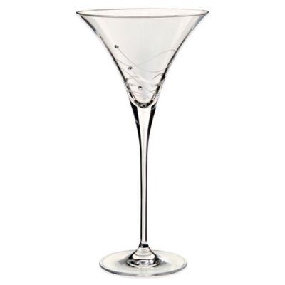 Dartington Crystal Glitz Martini Cocktail Glass with Swarovski® Elements (Set of 2)