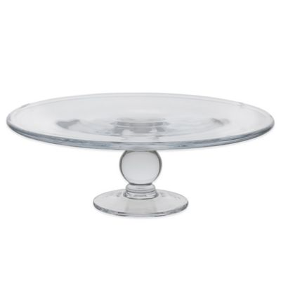 Dartington Crystal English Country Collection Footed Cake Plate