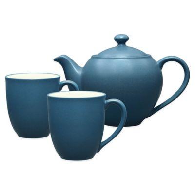 Noritake® Colorwave 3-Piece Tea-for-2 Set in Blue