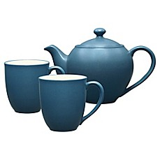 Noritake® Colorwave 3-Piece Tea-for-2 Set in Blue