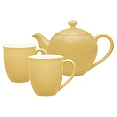 Noritake® Colorwave 3-Piece Tea-for-2 Set in Mustard