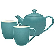 Noritake® Colorwave 3-Piece Tea-for-2 Set in Turquoise