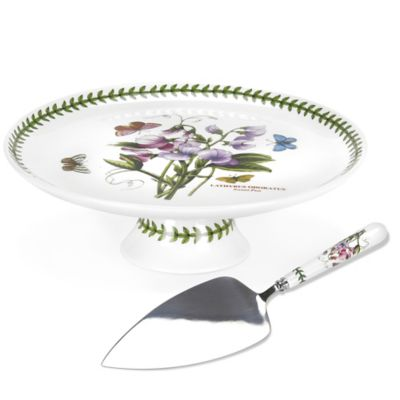 Portmeirion® Botanic Garden Footed Cake Plate with Server