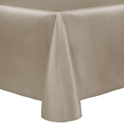 Tan Oblong Tablecloth