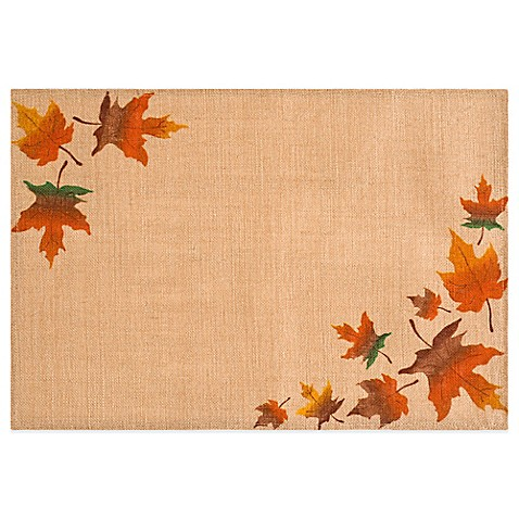 Bed Bath And Beyond Autumn Leaves Placemats