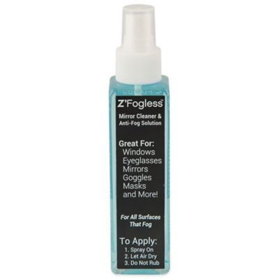Z'Fogless™ 4 oz. Fog-Free Spray Solution