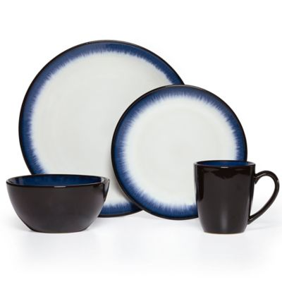 Pfaltzgraff® Everyday Lunar 16-Piece Dinnerware Set in Cobalt