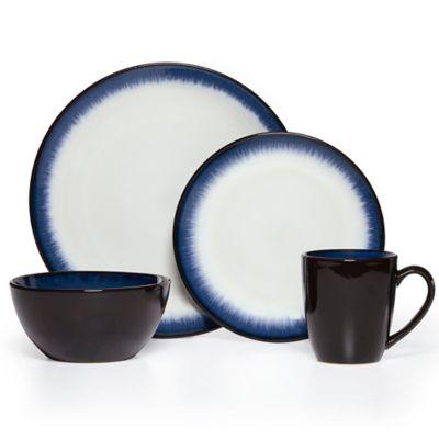 Pfaltzgraff® Everyday Lunar 16-Piece Dinnerware Set in Cobalt