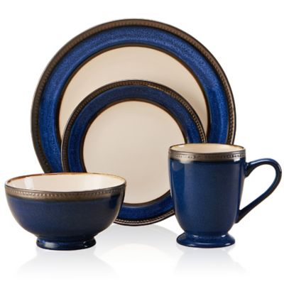 Pfaltzgraff® Everyday Catalina 16-Piece Dinnerware Set in Cobalt