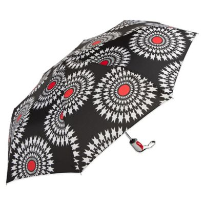 ShedRain® Maryam 42-Inch Auto Open/Close Umbrella in Black