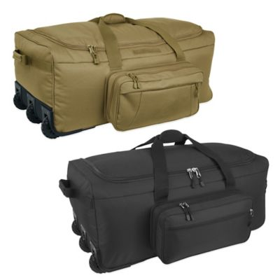 Mercury Luggage/Seward Trunk Code Alpha™ Mini-Monster 3-Wheeled Duffle Bag in Coyote
