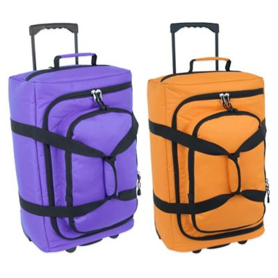 Mercury Luggage/Seward Trunk Code Alpha™ 22-Inch Micro-Monster in Orange