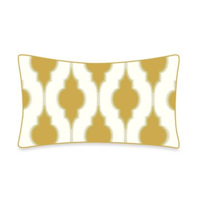 Bari Throw Pillow in Gold