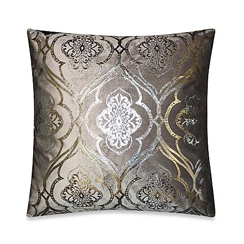 elisha throw pillow in grey silver bed bath beyond. Black Bedroom Furniture Sets. Home Design Ideas