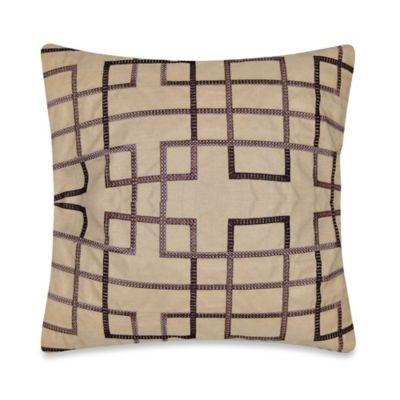 Kavala Throw Pillow in Purple