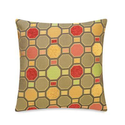 Octopane Throw Pillow in Brown