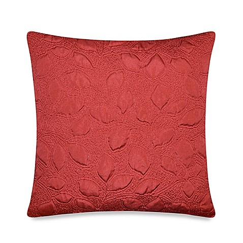 Red Throw Pillows For Bed : Tuscany Throw Pillow in Red - Bed Bath & Beyond