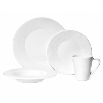 Mikasa® Sutton 4-Piece Place Setting in White