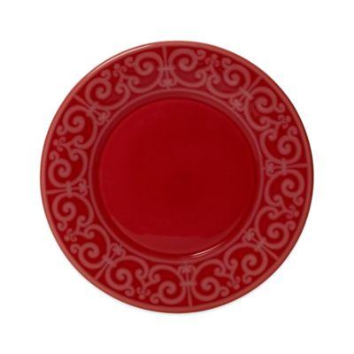 Crimson Dinner Plate