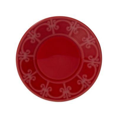 Crimson Salad Plate