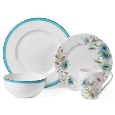 Mikasa® Cadence Bloom 4-Piece Place Setting