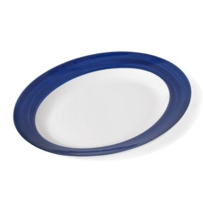 Mikasa® Cadence Oval Platter in Cobalt