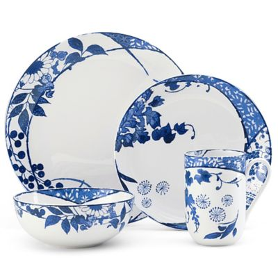 Mikasa® Hana 4-Piece Place Setting in Blue