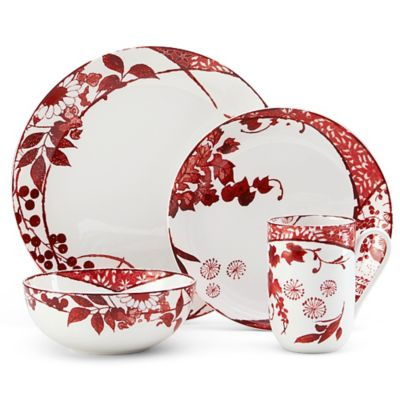Mikasa® Hana 4-Piece Place Setting in Red
