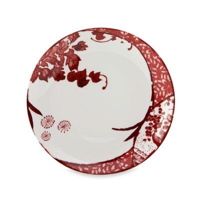 Mikasa Red Salad Plate
