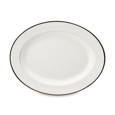 Gold Oval Platters