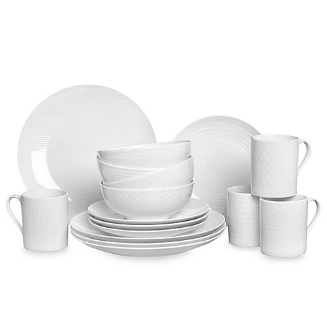 Mikasa® Cheers White 16-Piece Dinnerware Set
