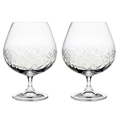 Top Shelf Graffiti 23 oz. Brandy Glasses (Set of 2)