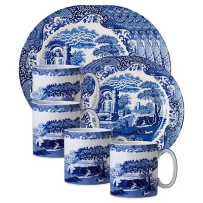 Spode® Blue Italian 12-Piece Place Setting
