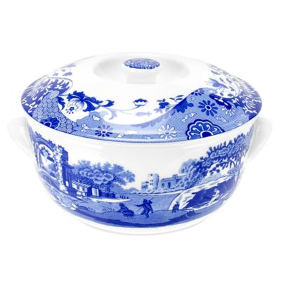 Spode® Blue Italian Covered Deep Dish